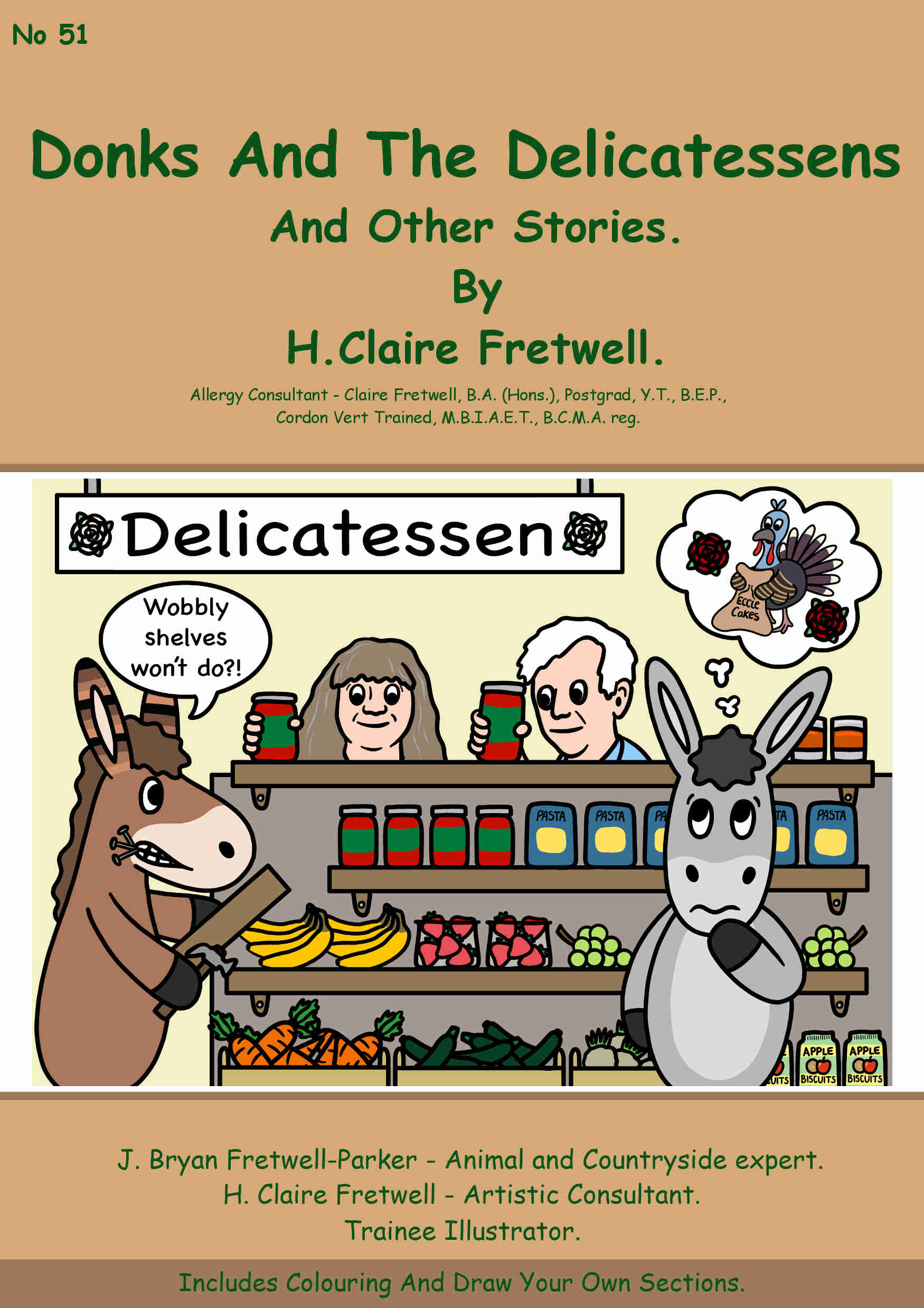 Donks And The Delicatessen. #51